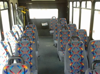 Inside of RHT bus