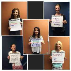 Clinic Hashtag BirthControlHelpedMe with staff 6 2015