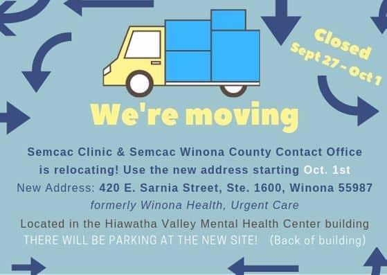 Moving Winona notice soc media